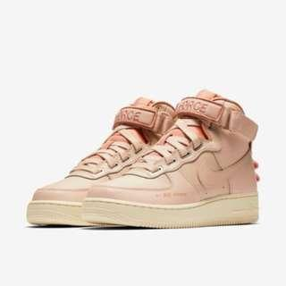 Authentic Nike Air Force 1 High Utility Pink