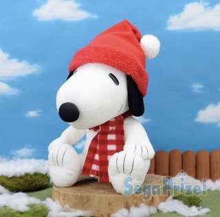 Sega 聖誕限定Snoopy 大公仔35cm HKD 100一個