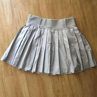 Gray Short Skirt