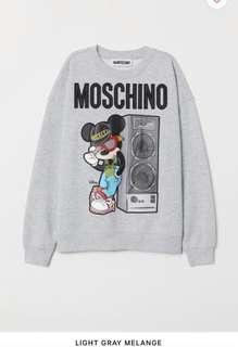 Moschino H&M Mickey sweater sweatshirt - size small and large available