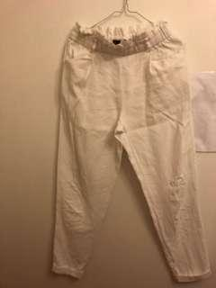 Zara white pants