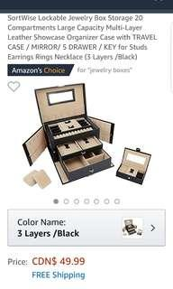 Brand new Sortwise jewelry box