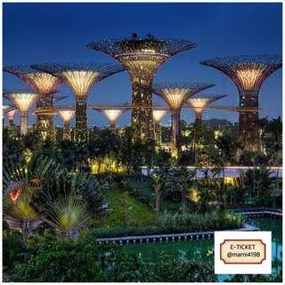 Gardens By The Bay with OCBC Skyway