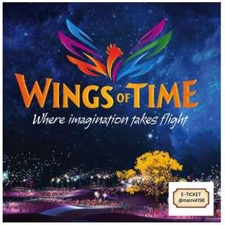 Wings Of Time (Fixed Date & Time)