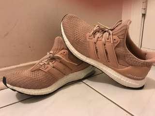 Adidas pink ultra boosts
