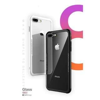 iPhone 8plus Tempered Glass Case