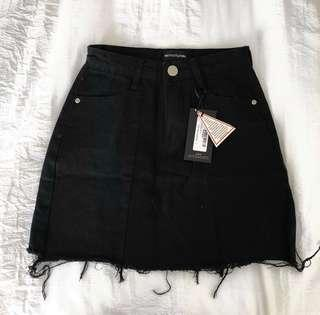 BRAND NEW denim skirt