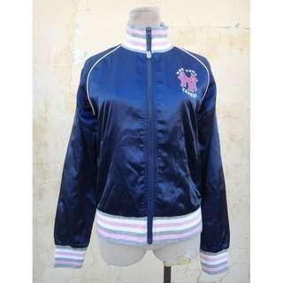 🚚 正品 MLB 創信 寶藍色 夾克/棒球外套 size: M