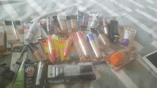 Bulk lot of make up