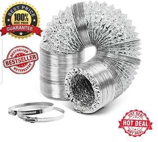 🚚 Aircon/portable aircon vent/Aluminium/dryer/cooker/hood/tubing/flexible/ducting/portable aircon hose/exhaust/Trends/delonghi/trentios/honeywell/europace/akira/TCL/techno/sona/electrolux/elba/midea/bosch/mayer/trunking/aluminum/portable aircon pipe/bree