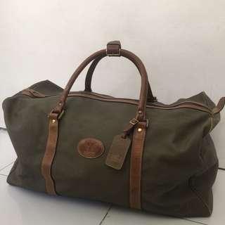 authentic vintage Why Inc. Fieldstone duffle / luggage bag