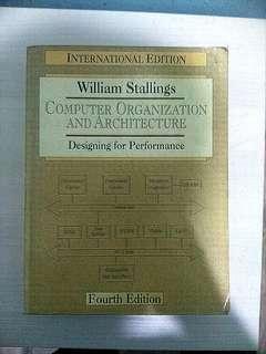 Computer Organization & Architecture Book #SINGLES1111