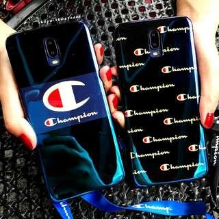 Holographic Champion Oppo R17 / R17 Pro casing