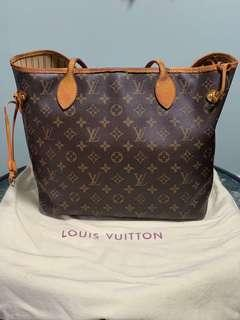 Lv neverfull mm guaranteed authentic
