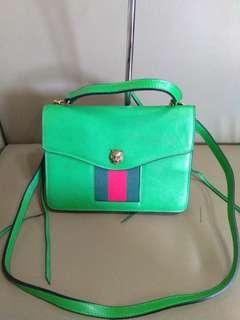Gucci two way sling