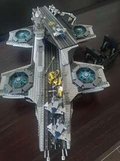 Lego Marvel 76042 UCS Helicarrier Without Figures