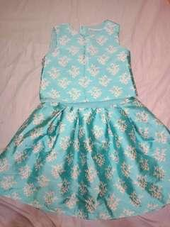 Gingersnap Mint Dress