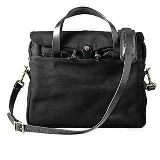 Filson Men's Original Briefcase Bag with Black Black Details