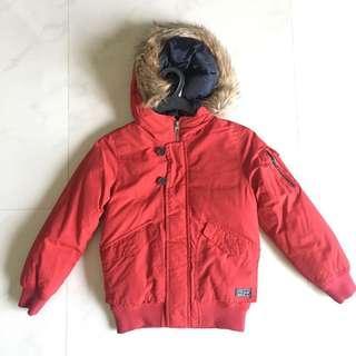 Zara Winter Jacket Size 7/8 Height 128cm