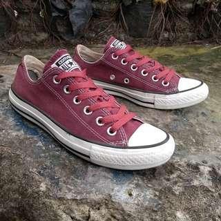 Converse Low Maroon