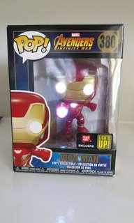 Iron Man Light Up Walgreens EXCLUSIVE funko