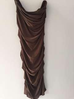 Tube Midi dress / dress kondangan