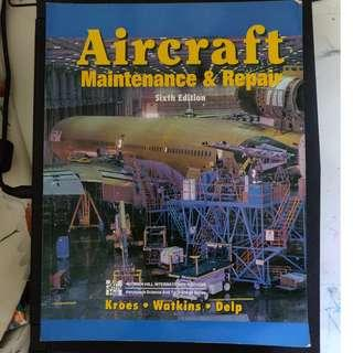 *FREE DELIVERY* Aircraft: Maintenance & Repair (Sixth Edition)