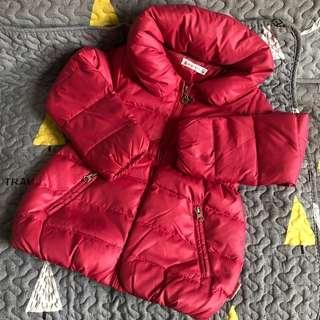 Ginger Bread girl's down jacket 女童羽絨外套