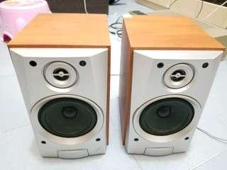 Sony speaker 書架 喇叭 日本製