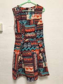 Dress and Printed dress
