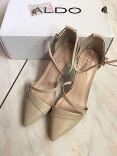 🚚 ALDO 專櫃正品 全新 米色 高跟鞋 尖頭鞋