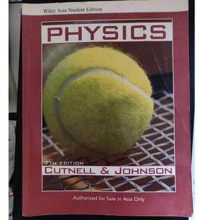 *FREE DELIVERY* Wiley Asia student edition PHYSICS
