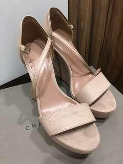 Charles & Keith high heel shoe