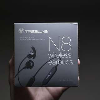 Treblab N8 | Wireless Neckband Sport Earbuds