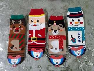 CHRISTMAS Edition Unisex Iconic Socks Santa Clause Snow Man