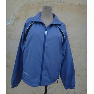 🚚 正品 NEW BALANCE 紫灰色 防風立領外套 size: S