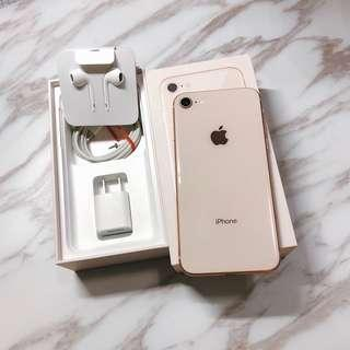 iPhone 8 64g only use 2months good condition no scratches