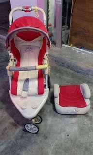 Set stroller & booster