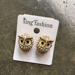 🆓Postage!!!🆕Fashion Owl Earrings