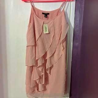 F21 Dusty Pink Dress