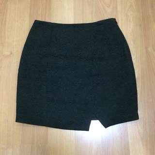 New:Ever New high waisted black skirt