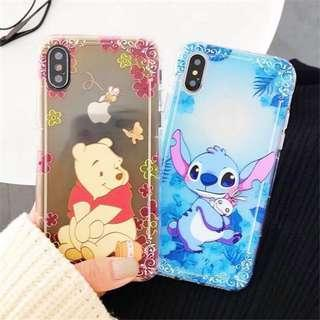 (PO) Pooh Stitch Transparent Phone Case