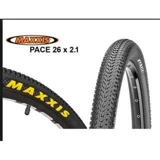 """🅝🅔🅦:Maxxis Pace Tires 26""""x2.10 (1 Pair)"""