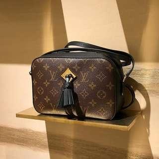 Authentic Louis Vuitton Saintongne Black