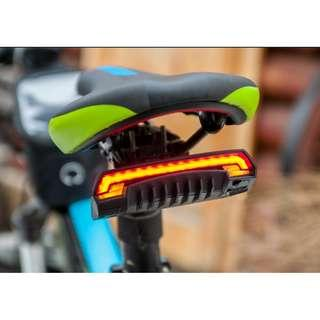 🅝🅔🅦:Meilan X5 Remote Control Signal / Rear / Laser Light Safety Bicycle / Scooter Tail Light ( 6 Months warranty)