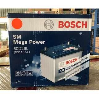 NX110-5L BOSCH Car Battery (80D26L)