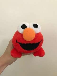 紅通通的Elmo絨毛筆袋!!!🍅🖍