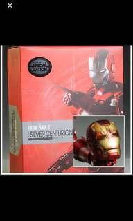 Hot Toys Silver Centurion Special Edition Iron Man Mark