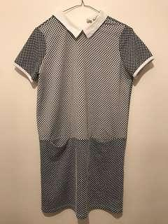 Italian made mini dress (small)