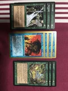 Magic The Gathering (MTG) assortment cards